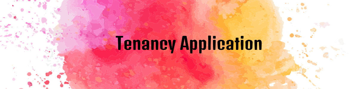 Tenancy Application